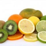fruitmand specialist stockfoto