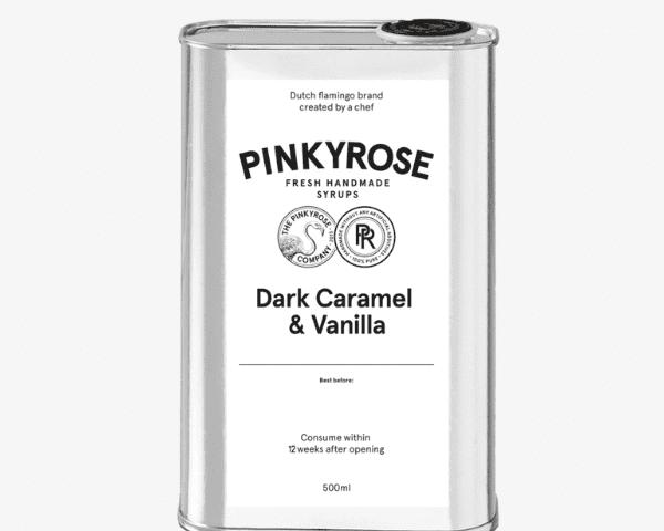 Dark Caramel en vanilla siroop