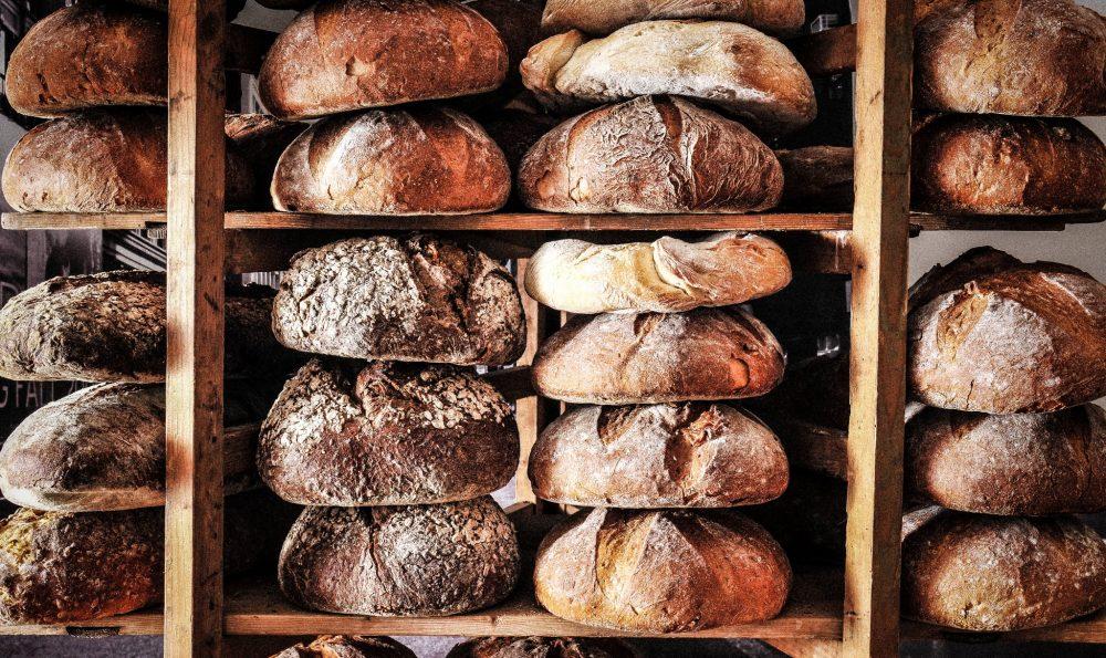 handgemaakt brood sfeer