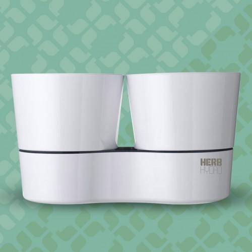 herb heroes hydro potten wit