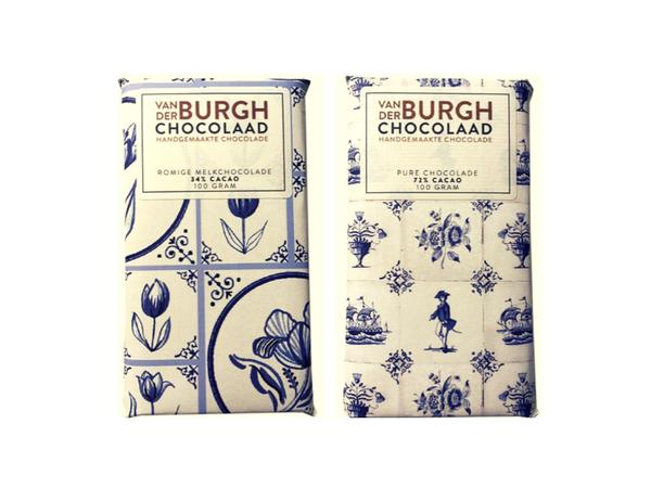 Delfts Blauw Chocoladepakket