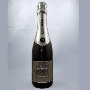 klein flesje champagne