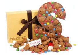 gepersonaliseerde chocoladeletter