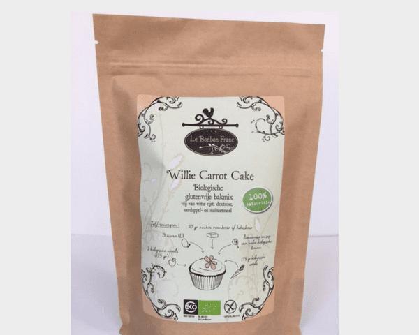 willie carrot cake bakmix