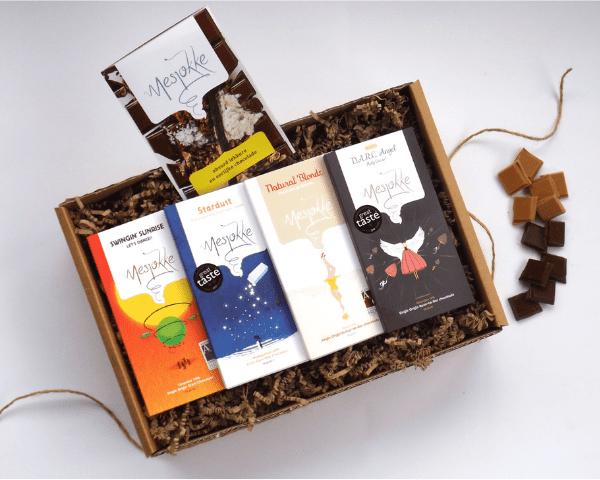 bijzondere chocoladerepen