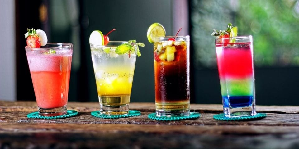 hip proosten met bijzondere drankjes