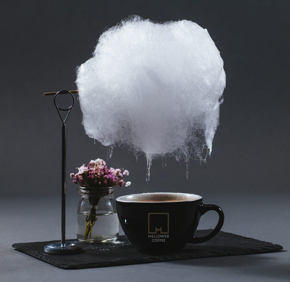 sweet little rain | koffie met een suikerspinwolk
