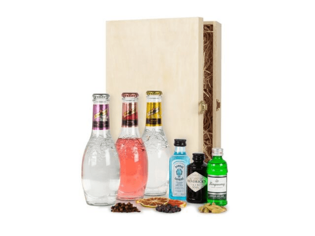 GIN TONIC BOX Schweppes & Gin