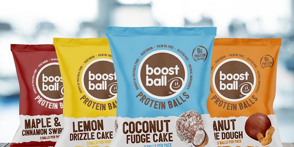 Boostball; een eiwitrijke snack