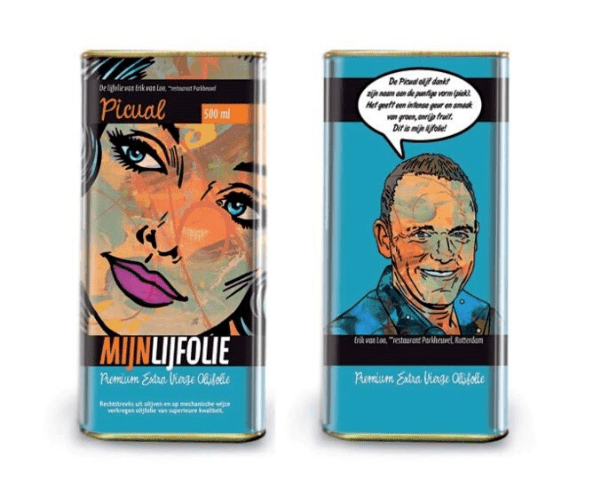 Mijnlijfolie set extra vierge